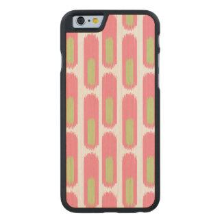 Ikat Diamond59 Carved® Maple iPhone 6 Slim Case
