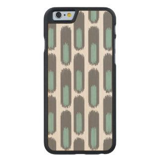 Ikat Diamond59 New Carved® Maple iPhone 6 Slim Case