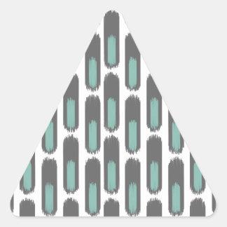Ikat Diamond59 New Triangle Sticker