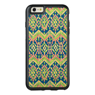 Ikat Ethnic Moorish Pattern on Blue OtterBox iPhone 6/6s Plus Case