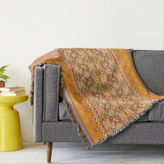 ikat throw blanket