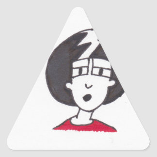IKE PIC 1 001 TRIANGLE STICKER
