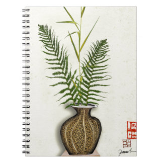 ikebana 14 by tony fernandes notebook