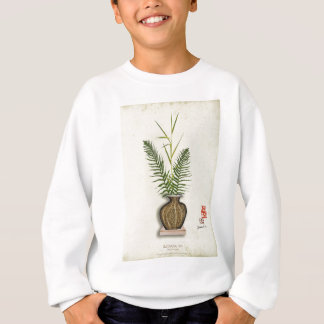 ikebana 14 by tony fernandes sweatshirt