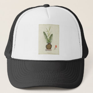ikebana 14 by tony fernandes trucker hat