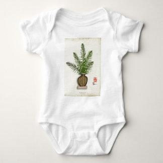 ikebana 15 by tony fernandes baby bodysuit