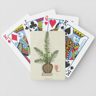 ikebana 16 by tony fernandes bicycle playing cards