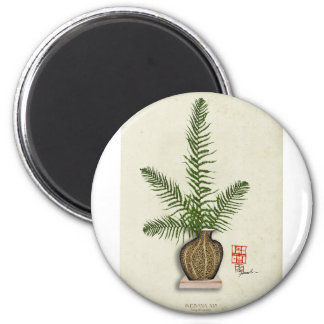 ikebana 16 by tony fernandes magnet