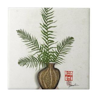 ikebana 16 by tony fernandes tile