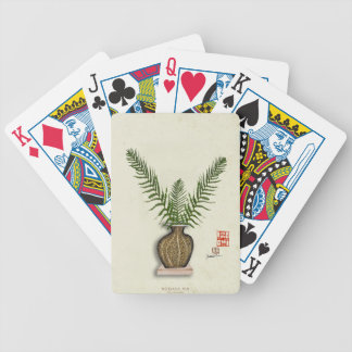 ikebana 17 by tony fernandes bicycle playing cards