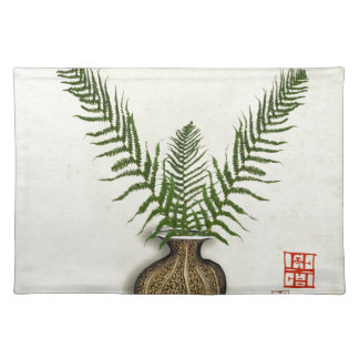 ikebana 17 by tony fernandes placemat
