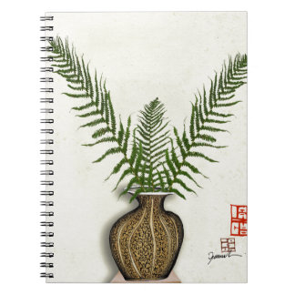 ikebana 17 by tony fernandes spiral notebook