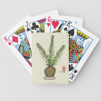 ikebana 18 by tony fernandes bicycle playing cards