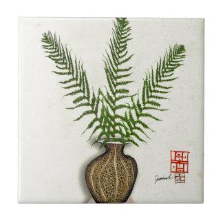 ikebana 18 by tony fernandes ceramic tile