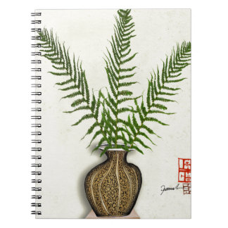 ikebana 18 by tony fernandes notebook