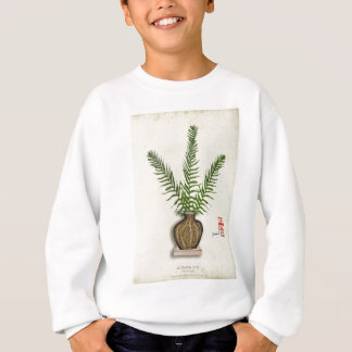 ikebana 18 by tony fernandes sweatshirt