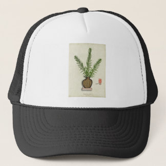 ikebana 18 by tony fernandes trucker hat