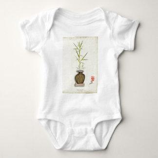 ikebana 19 by tony fernandes baby bodysuit