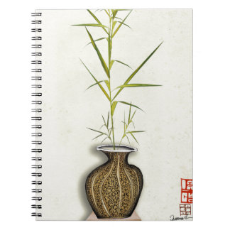 ikebana 19 by tony fernandes notebook