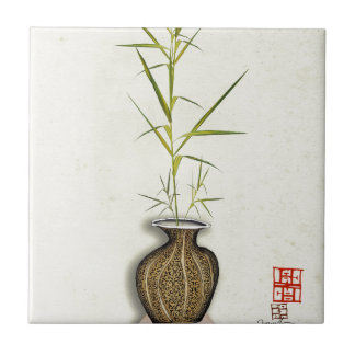ikebana 19 by tony fernandes tile