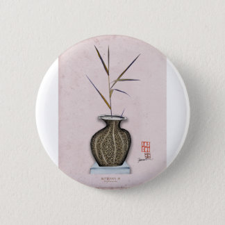 Ikebana 3 by tony fernandes 6 cm round badge