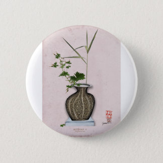 Ikebana 5 by tony fernandes 6 cm round badge