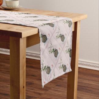 Ikebana 5 by tony fernandes short table runner