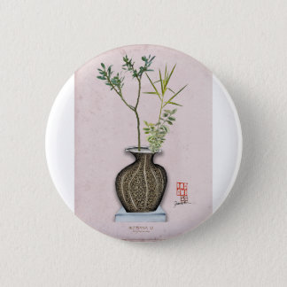 Ikebana 6 by tony fernandes 6 cm round badge