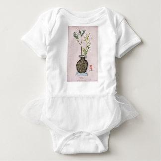 Ikebana 6 by tony fernandes baby bodysuit