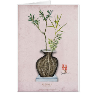 Ikebana 6 by tony fernandes card
