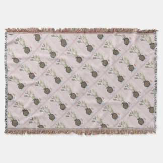 Ikebana 6 by tony fernandes throw blanket