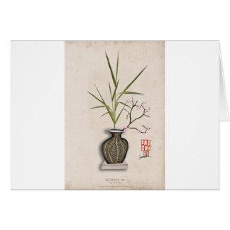 ikebana 7 by tony fernandes card