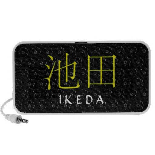 Ikeda Monogram Laptop Speaker