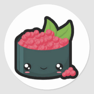 Ikura Sushi Sticker