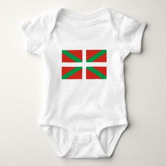 IKURRIÑA DRAPEAU BASQUE EUSKADI FLAG VASCA BABY BODYSUIT