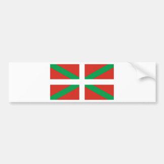 IKURRIÑA DRAPEAU BASQUE EUSKADI FLAG VASCA BUMPER STICKER