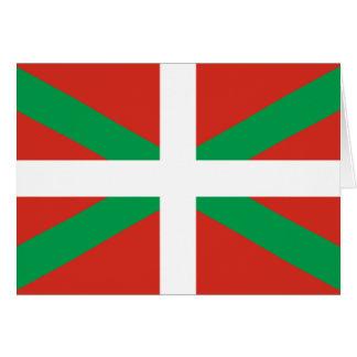 IKURRIÑA DRAPEAU BASQUE EUSKADI FLAG VASCA CARD