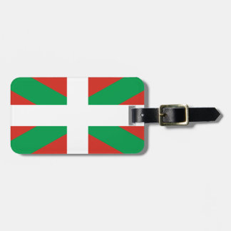 IKURRIÑA DRAPEAU BASQUE EUSKADI FLAG VASCA LUGGAGE TAG