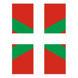 IKURRIÑA DRAPEAU BASQUE EUSKADI FLAG VASCA POSTCARD
