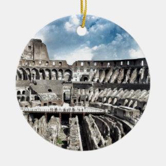 Il Colosseo I gave Rome Ceramic Ornament