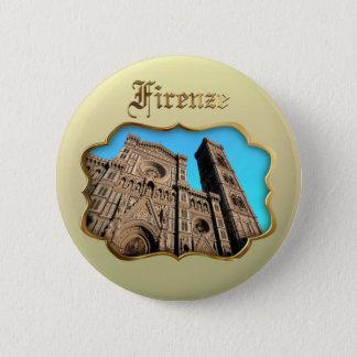 Il Duomo di Firenze 6 Cm Round Badge