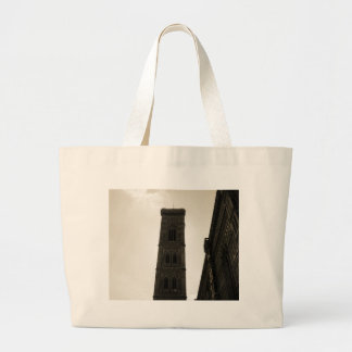 Il Duomo Di Firenze Bell Tower Canvas Bags