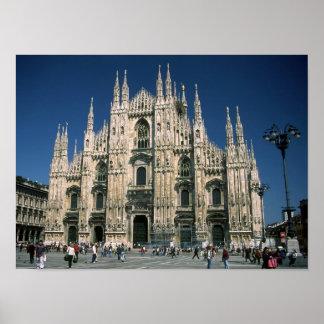 """""""Il Duomo, Milano"""" poster"""