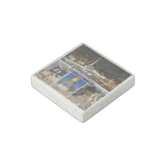 IL Israel - Jerusalem - Dome of the Rock - Stone Magnet