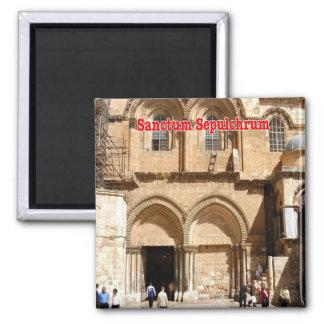 IL - Israel - Jerusalem - Sanctum Sepulchrum Magnet
