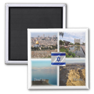 IL * Israel - Jerusalem Tel Aviv Magnet