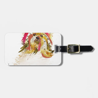Il Love Lhasa apso Luggage Tag