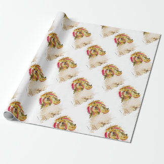 Il Love Lhasa apso Wrapping Paper