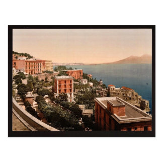 Il Posilippo and waterfront, Naples, Italy vintage Postcards