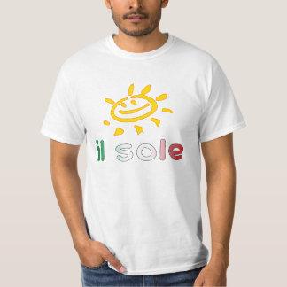 Il Sole The Sun in Italian Summer Vacation T-Shirt